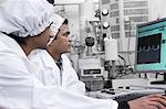 Scientists working in lab Stock Photo - Premium Royalty-Free, Artist: Blend Images, Code: 649-06490062
