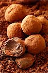 Chocolate Truffles - with recipe step shot Stock Photo - Premium Rights-Managed, Artist: foodanddrinkphotos, Code: 824-06490161