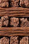 Milk chocolate flakes Stock Photo - Premium Rights-Managed, Artist: foodanddrinkphotos, Code: 824-06490168