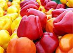 Red and yellow peppers Stock Photo - Premium Rights-Managed, Artist: foodanddrinkphotos, Code: 824-06490235