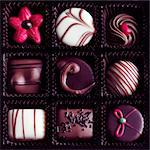 Box of Chocolates Stock Photo - Premium Rights-Managed, Artist: foodanddrinkphotos, Code: 824-06491651