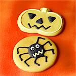 Assorted Halloween Cookies Stock Photo - Premium Rights-Managed, Artist: foodanddrinkphotos, Code: 824-06491678