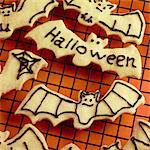 Halloween Biscuits Stock Photo - Premium Rights-Managed, Artist: foodanddrinkphotos, Code: 824-06491696