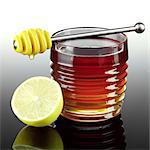 Honey and Lemon Stock Photo - Premium Rights-Managed, Artist: foodanddrinkphotos, Code: 824-06491778