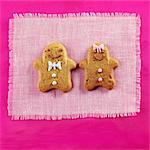 Valentine's Day Gingerbread Cookies Stock Photo - Premium Rights-Managed, Artist: foodanddrinkphotos, Code: 824-06491822