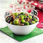 Brussel Sprouts with Pancetta and Chestnuts Stock Photo - Premium Rights-Managed, Artist: foodanddrinkphotos, Code: 824-06491927