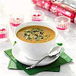 Pumpkin and Chestnut Soup Stock Photo - Premium Rights-Managed, Artist: foodanddrinkphotos, Code: 824-06491936