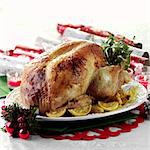 Christmas Turkey with Lemon Stock Photo - Premium Rights-Managed, Artist: foodanddrinkphotos, Code: 824-06491939