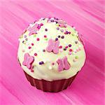 Easter Fairy Cake - Giant Cup cake Stock Photo - Premium Rights-Managed, Artist: foodanddrinkphotos, Code: 824-06491996