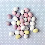 Chocolate mini eggs Stock Photo - Premium Rights-Managed, Artist: foodanddrinkphotos, Code: 824-06492014