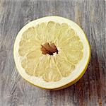Half a Pomelo fruit Stock Photo - Premium Rights-Managed, Artist: foodanddrinkphotos, Code: 824-06492150