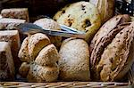 Selection of Bread in a Bakers Shop Stock Photo - Premium Rights-Managed, Artist: foodanddrinkphotos, Code: 824-06492186