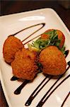 Deep fried Mexican salt cod balls Stock Photo - Premium Rights-Managed, Artist: foodanddrinkphotos, Code: 824-06493373