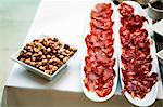 Bowl of Mixed Nuts and Two Platters of Italian Meat Stock Photo - Premium Royalty-Free, Artist: Cultura RM, Code: 659-06494688