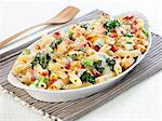Pasta bake with broccoli and ham Stock Photo - Premium Royalty-Free, Artist: Blend Images, Code: 659-06494787