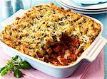 Shepherds pie in a baking dish Stock Photo - Premium Royalty-Freenull, Code: 659-06494825
