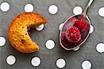 Financiers with raspberries Stock Photo - Premium Royalty-Free, Artist: Photocuisine, Code: 659-06495136