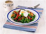 An English breakfast with tea Stock Photo - Premium Royalty-Freenull, Code: 659-06495198