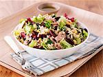 Rice salad with tuna and kidney beans Stock Photo - Premium Royalty-Freenull, Code: 659-06495259