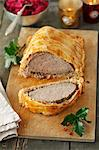 Beef Wellington for Christmas Stock Photo - Premium Royalty-Freenull, Code: 659-06495528