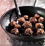 Meatballs in a pan Stock Photo - Premium Royalty-Freenull, Code: 659-06495690