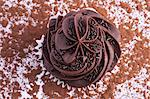 Chocolate cupcakes Stock Photo - Premium Royalty-Free, Artist: Photocuisine, Code: 659-06495695