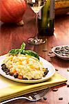 Pumpkin risotto with pumpkins seeds and white wine Stock Photo - Premium Royalty-Freenull, Code: 659-06495786