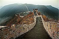 Chinese Great Wall, section at Mutianyu Stock Photo - Premium Royalty-Freenull, Code: 6106-06496227