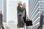 Businesswomen travel to a city meeting together Stock Photo - Premium Royalty-Free, Artist: Steve McDonough, Code: 6106-06496237