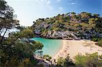 Spain, Menorca, Cala Macarelleta Stock Photo - Premium Royalty-Freenull, Code: 6106-06497277