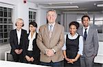 Portrait of confident multiethnic business group at office Stock Photo - Premium Royalty-Freenull, Code: 693-06497687
