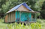 A local family's hut on Bamboo Island, Sihanoukville, Cambodia, Indochina, Southeast Asia, Asia Stock Photo - Premium Rights-Managed, Artist: Robert Harding Images, Code: 841-06499265