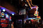 Honky Tonk area of Nashville music city, Tennessee, United States of America, North America Stock Photo - Premium Rights-Managed, Artist: Robert Harding Images, Code: 841-06499769