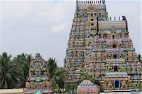 Manargudi temple gopuram, Manargudi, Tamil Nadu, India, Asia Stock Photo - Premium Rights-Managednull, Code: 841-06499839