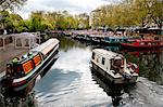 The Grand Union Canal, Little Venice, Maida Vale, London, England, United Kingdom, Europe Stock Photo - Premium Rights-Managed, Artist: Robert Harding Images, Code: 841-06499913