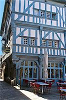 Medieval half timbered house, Dinan, Brittany, France, Europe Stock Photo - Premium Rights-Managednull, Code: 841-06499987