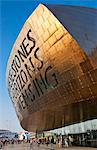 Wales Millennium Centre, Cardiff Bay, Cardiff, South Glamorgan, Wales, United Kingdom, Europe Stock Photo - Premium Rights-Managed, Artist: Robert Harding Images, Code: 841-06500036