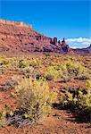 Fisher Towers and sagebrush foreground, near Moab, Utah, United States of America, North America Stock Photo - Premium Rights-Managed, Artist: Robert Harding Images, Code: 841-06500069