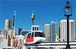 Monorail, Sydney, New South Wales, Australia, Pacific Stock Photo - Premium Rights-Managed, Artist: Robert Harding Images, Code: 841-06500124