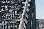 People walking on Sydney Harbour Bridge, Sydney, New South Wales, Australia, Pacific Stock Photo - Premium Rights-Managed, Artist: Robert Harding Images, Code: 841-06500153