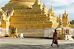 The Kuthodaw Pagoda, Mandalay city, Mandalay Division, Republic of the Union of Myanmar (Burma), Asia Stock Photo - Premium Rights-Managed, Artist: Robert Harding Images, Code: 841-06500243