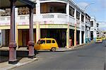 Yellow taxi, Antsiranana (Diego Suarez), capital of Diana Region, Madagascar, Africa Stock Photo - Premium Rights-Managed, Artist: Robert Harding Images, Code: 841-06500306