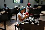 Women making cigars at the Dannemann factory in Sao Felix, Bahia, Brazil, South America Stock Photo - Premium Rights-Managed, Artist: Robert Harding Images, Code: 841-06500475