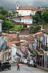 Street scene with colonial buildings in Ouro Preto, UNESCO World Heritage Site, Minas Gerais, Brazil, South America Stock Photo - Premium Rights-Managed, Artist: Robert Harding Images, Code: 841-06500509