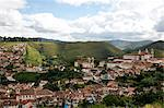 A view over the city of Ouro Preto, UNESCO World Heritage Site, Minas Gerais, Brazil, South America Stock Photo - Premium Rights-Managed, Artist: Robert Harding Images, Code: 841-06500510