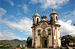 Sao Francisco de Assis church, Ouro Preto, UNESCO World Heritage Site, Minas Gerais, Brazil, South America Stock Photo - Premium Rights-Managed, Artist: Robert Harding Images, Code: 841-06500513