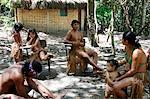Pataxo Indian people at the Reserva Indigena da Jaqueira near Porto Seguro, Bahia, Brazil, South America Stock Photo - Premium Rights-Managed, Artist: Robert Harding Images, Code: 841-06500540