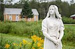 Evangeline statue, Acadian Village, Van Buren, Maine, United States of America, North America Stock Photo - Premium Rights-Managed, Artist: Robert Harding Images, Code: 841-06500795