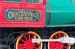 Locomotive at the Chattanooga Choo Choo, Chattanooga, Tennessee, United States of America, North America Stock Photo - Premium Rights-Managed, Artist: Robert Harding Images, Code: 841-06500879