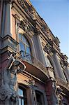 Statues on the facade of the Beloselskiy Palace on Nevskiy Prospekt, St. Petersburg, Russia, Europe Stock Photo - Premium Rights-Managed, Artist: Robert Harding Images, Code: 841-06500963